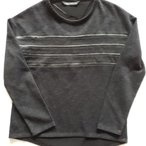 Zara long sleeve with faux leather details